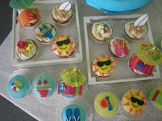 Cupcakes de Verão