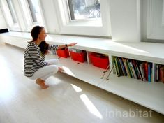 storage ideas. pic 9 (as shown?) front opening bench type storage