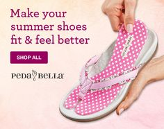 Make your summer shoes fit & feel better