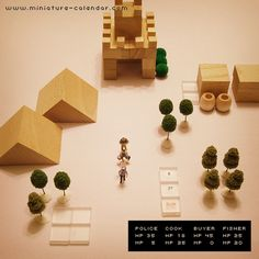 miniature calendar 5.27 -MINIATURE QUEST-