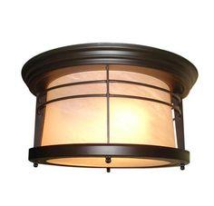 """Senecaville 2-Light 12"""" Ceiling Light at Menards"""