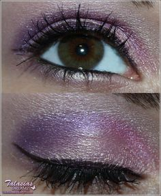 Purple Eye Make Up - Datum: 14.03.2012  http://talasia.blogspot.de/2012/05/amu-clinique-crystal-berry-meets.html