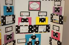 If you teach elementary you MUST get this 'early finishers' board via TPT. It provides you with a FULL YEAR'S WORTH of printable activities to display. It is differentiated by learning style so students can pick and choose meaningful activities to do when they get done with their work. It revolutionized my classroom this year! She has various grade levels available!!