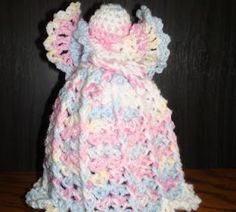 Crochet Geek - Free Instructions and Patterns: Air Freshener Crochet Angel Cover