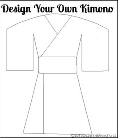 Design Your Own Kimono ---> Learning About Japan: At Home and Church Suzanne, with a Z, with a z Broadhurst Around The World Crafts For Kids, Around The World Theme, Art For Kids, Multicultural Activities, Preschool Activities, Creative Activities, Infant Activities, Japan For Kids, Passport Template