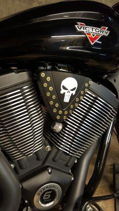Custom Victory Motorcycles cheese wedge