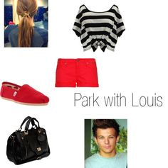 """Park with Louis"" by beccaloveswmyb ❤ liked on Polyvore"