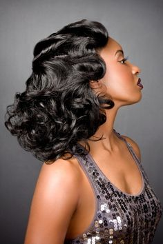 1920 Long Hairstyles | Let's take it back to the 1920′s and add a new twists to it. This ...