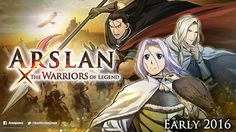 Arslan Senki x Musou llegará a Occidente en 2016 para PS3, PS4 y Xbox One.