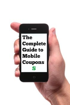 coupons on your mobile!