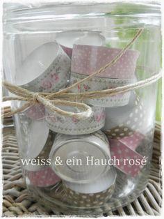weiß & ein Hauch rosé: Osterdeko, Teil 2 & Geburtstagsgeschenk für meine Freundin...