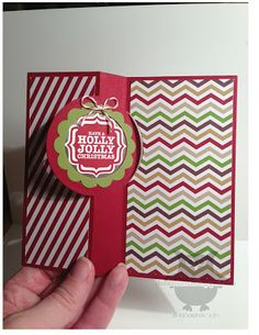 Dani's fun card uses the Circle Thinlits Card Die with Tags 4 You & its punch and Season of Style dsp.