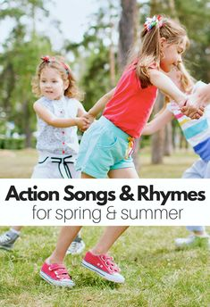 Action songs and rhymes for preschool!
