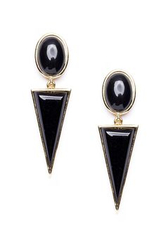Shapes of Style Statement Earrings in Black #shapes #fashionearrings #black #statementearrings - 15,90 € @happinessboutique.com