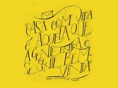 carta amarela #82 – casa nova