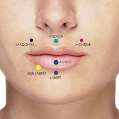 Smiley Piercing, Bijoux Piercing Septum, Lip Piercing Labret, Lower Lip Piercing, Vertical Labret Piercing, Cartilage Piercings, Medusa Piercing, Body Piercing, Monroe Piercings