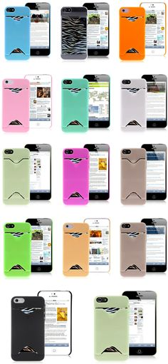 Hot Sale iPhone 5 Silicone Case - Credit Card Slot Cases