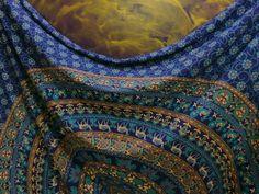 Queen size indian mandala hippie tapestry wall hanging bohemian bedspread decor@ #Unbranded #ArtDecoStyle #BedspreadWallHangingHomeDecor
