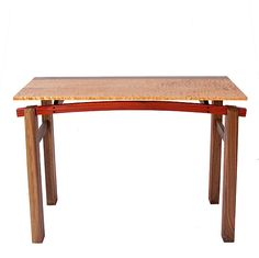 Wooden Hall Tables this narrow, 8 inch table is perfectly sized for a wall bump out