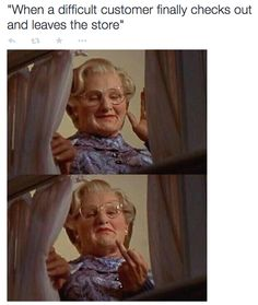 On goodbyes: | 25 Pictures That Will Give Retail Workers Intense Flashbacks