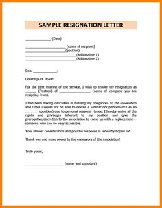 [ Cover Letter How Write Resignation Template With Reason For Leaving ] - Best Free Home Design Idea & Inspiration Simple Cover Letter Template, Cover Letter Design, Cover Letter Example, Letter Designs, Resignation Template, Resignation Letter, Customer Service Cover Letter, Lesson Plan Examples, Printable Letter Templates