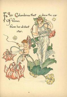 zijperspace:  Flora's Feast (XX) - Walter Crane.