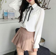 55 Korean Outfits To Copy Now Outfits Coreanos Kawaii Fashion, Cute Fashion, Modest Fashion, Look Fashion, Girl Fashion, Fashion Styles, Fashion Ideas, Fashion Inspiration, Boho Outfits