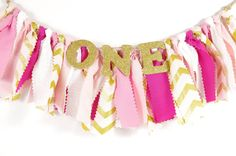 Yup- this is the one! Not sure we could make this for less than $16.50. May just go with it.   Pink and Gold Girl's Birthday Party Rag by DuryeaPlaceDesigns