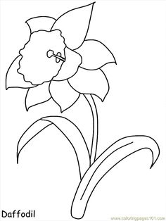 Realistic Flowers Coloring Page