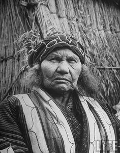 Ainu Woman #Japan #Ainu