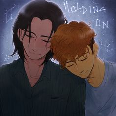 I love the Holding On fanfic by CanadianSnow and Effcat so much~