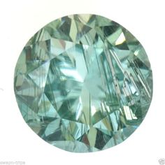 MOISSANITE I1 CLARITY JEWELRY 0.64 CT GREENISH COLOR GEMSTONE LOOSE ROUND SHAPE