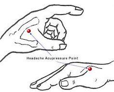 Headache Acupressure point