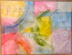 Watercolor Abstract by Suzanne
