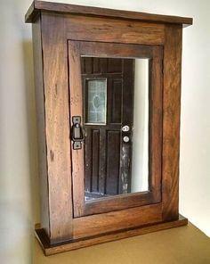 New Wood Door Medicine Cabinet