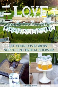 Gorgeous Succulent Bridal Shower With A Free Printable Pack Easy Ideas For Your