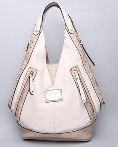 coogi v-zip & croc collection handbag  $120.00