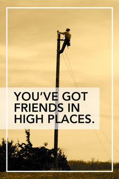 When the power goes out, we're here for you. April 13, 2015 is National Lineman Appreciation Day. #ThankALineman Photo Credit: Boone Electric Cooperative