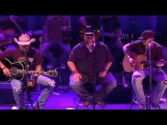 Jason Aldean, Colt Ford & Brantley Gilbert doing Dirt Road Anthem