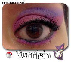 Reto Poke Makeup. Pokemon Tipo Siniestro. Purrloin
