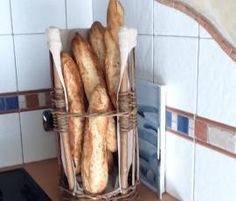 Recette Des baguettes comme chez le boulanger par annalada - recette de la catégorie Pains & Viennoiseries