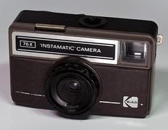 Instamatic Camera by Kodak Instamatic Camera, Vintage Cameras, Camera Photography, Film Camera, Cubes, Product Design, Action, Free, Pictures