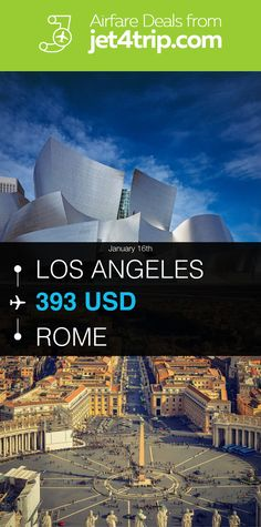 Flight from Los Angeles to Rome for $393 by American Airlines #travel #ticket #deals #flight #LAX #ROM #Los Angeles #Rome #AA #American Airlines