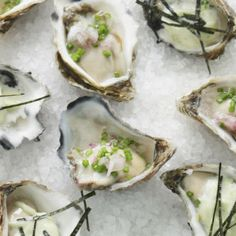 Raw oysters with Key Lime Mignonette paired with the 2015 Rombauer Sauvignon Blanc Napa Valley. #SauvBlanc #wine #pairing #recipe