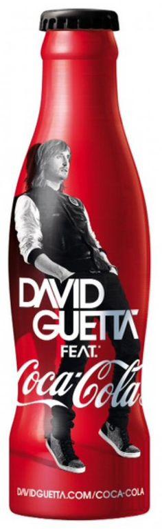 David Guetta feat Coca-Cola shrink sleeve456