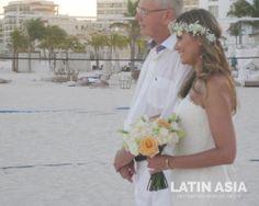 #bridal #bouquet by @Latin Asia Destination wedding decor