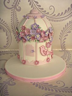 1000 Images About Cake Birdcages Examples On Pinterest