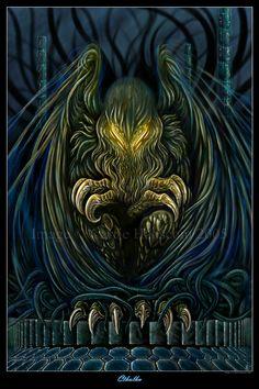 'Cthulhu' by Aerin-Kayne.