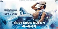 Checkout the sizzling first look of #Heropanti