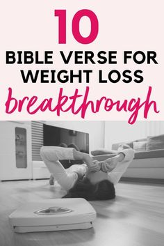 10 Bible Verses for Weight Loss Breakthrough - Weightloss Meme - - Did you know the Bible can help you lose weight? These Bible verses will give you weight loss breakthrough. The post 10 Bible Verses for Weight Loss Breakthrough appeared first on Gag Dad. Lose Weight Fast Diet, Start Losing Weight, Best Weight Loss, Healthy Weight Loss, Weight Loss Tips, How To Lose Weight Fast, Weight Gain, Reduce Weight, Weight Control